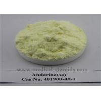 Wholesale Muscles Strength Sarms Raw Powder S4 Andarine CAS 401900-40-1 Legal Anabolic Supplements from china suppliers
