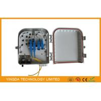 Wholesale 8 Port Outdoor Braodband CATV / LAN Fiber Optic Splitter Box Pole Mounted from china suppliers