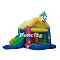 Wholesale Commercial 0.55mm PVC Tarpaulin (18oz) Inflatable Water Park Trampoline Bouncy House from china suppliers