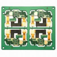 Wholesale 4-layer Rigid-flex PCB with Minimum Hole Size of 0.2mm from china suppliers