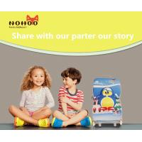 Wholesale Water Resistance Children'S Luggage On Wheels Hard Shell Penguin Pattern from china suppliers