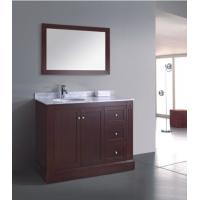 Buy cheap American solid wood bathroom furniture from wholesalers