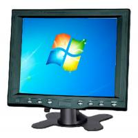Wholesale Black Color 8 Inch Resistive Touch Screen LCD Monitor Power DC 12v from china suppliers