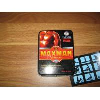 Wholesale Powerful Safe Male Stamina Enhancement Pills MAXMAN IV Hard Erection from china suppliers