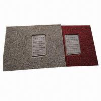 Quality PVC Coil Car Mat in Piece, Eco-friendly, Textured Spinneret for Cleaning Easy for sale