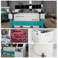Quality 1500*2000mm waterjet cutting machine with 420Mpa high pressure pump for granite for sale