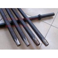 Wholesale Forging Type Blast Hole Drilling Tapered Rock Drill Rods Hex22mm / Hex25mm from china suppliers