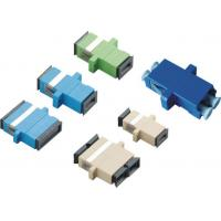 Wholesale SC APC Fiber Optic Adapter Simplex Duplex and SM MM from china suppliers