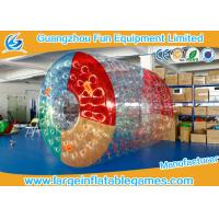 Wholesale PVC Inflatable Water Roller Ball Inflatable Hamster Wheel For Water Pool from china suppliers