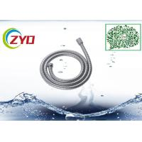 Wholesale 304 Stainless Steel Double locker Flexible  Handheld Bathroom Shower Hose 1.5m Longth Chrome Plated from china suppliers
