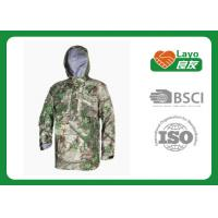 Wholesale Police Working Water Resistant Jacket , Warm Rain Jacket With Hood from china suppliers