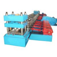 Wholesale 19 Stations and 22KW Auto-stacker Metal Guard Rail Roll Forming Machine from china suppliers