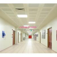 Wholesale Aluminum Construction Soundproofing Materials White Powder Coating Tiles from china suppliers