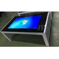 Buy cheap Free Standing 55 Inch Touch Screen Computer Table Windows 7 Os Power Saving from wholesalers