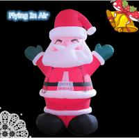 Wholesale Oxford Multi-size Christmas Happy Inflatable Santa Claus for Christmas from china suppliers