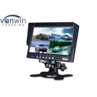 Wholesale 7 Inches Auto Accessory TFT Car Monitor with 4 Video Input For Mobile DVR system from china suppliers