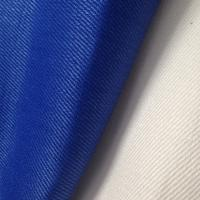 Wholesale 370GSM Blue Twill Natural Hemp Fabric , Soft Hemp Textiles for Jujitsu Trousers Clothing / Bedding from china suppliers