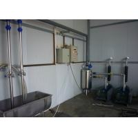 Wholesale Fishbone Milking System with Stainless Steel Milk Receiving Container , Time-Saving Parlor from china suppliers