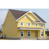 Wholesale Cedar Beautiful WPC House with Solid Wood Plastic Composite Panel from china suppliers
