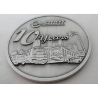 Metal Souvenir Coin / Personalized Coins Antique Silver, Copper, Silver, Anti - Nickel Plating