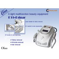 Wholesale 1mhz Rf Ipl Laser Permanent Hair Removal Tattoo Removal Machine Ac220v / 50hz from china suppliers