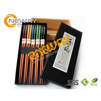 Wholesale OEM Paperboard Printed Packaging Boxes For Chopstick , UV Offset Printing from china suppliers