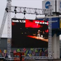 Wholesale HD P10 Outdoor Full Color Rental Led Display With 8000 nit / m2 from china suppliers