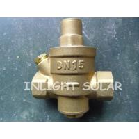 Wholesale Brass Type Pressure Relief  Valve / Pressure Reducing Valve For Solar Water Heaters from china suppliers