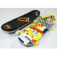 "Wholesale Sponge Baby Maple Wood Skateboards with Black Plastic Truck and Base 17"" x 5"" from china suppliers"