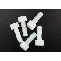 Wholesale White Nylon Hexagon Socket Head Cap Screw M3 X 8mm Flat Point DIN 912 Standard from china suppliers