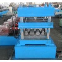 Wholesale 22Kw Main Motor Power Heavy Duty Galvanized Steel Guard Railway Roll Forming Machine Three Wave Guardrail from china suppliers