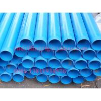Quality Blue PVC Casing and screen tube Water Well Drilling Tools ISO / CE for sale