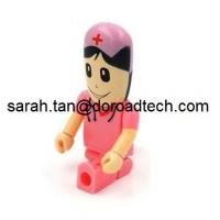 Wholesale All Kinds of Plastic People USB Flash Drives, Customized Figures Available from china suppliers