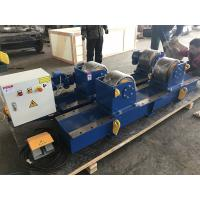 Wholesale 30T Conventional Pipe Welding Rotator With Pu Wheels Electric Control from china suppliers