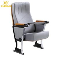 Wholesale Upholstered Foldable Auditorium Theater Seating With Writing Pad for Conference Hall from china suppliers