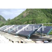 Buy cheap Commercial Vacuum Tube Solar Water Heater Square Size Manifold For Sloped Roof from wholesalers