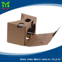 Wholesale OEM LOGO Printed 3D VR Cardboard Boxes , VR Headset Video Glasses from china suppliers