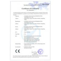 Alpha sauna & swimming pool supplier Co.LTD Certifications