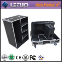 Wholesale Aluminum flight case road case transport crate case active speaker flight case from china suppliers