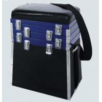 Wholesale Alu. Frame Fishing Seat Boxes with Leatherette Padded Seat STBX002 from china suppliers