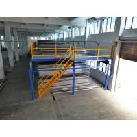 Wholesale 1000kg Cold Rolling Steel Industrial Mezzanine Floors For Distribution Center from china suppliers