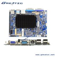 Wholesale 6 COM Industrial Fanless PC Motherboard Dual Core Atom N2600 CPU TDP 3.5W DC12V from china suppliers