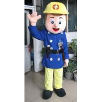 Wholesale handmade popular cartoon character Fireman mascot uniform costumes from china suppliers