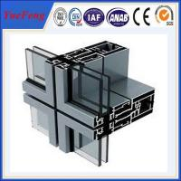Wholesale thermal insulated aluminium profiles manufacturer, ODM aluminium curtain wall profiles from china suppliers