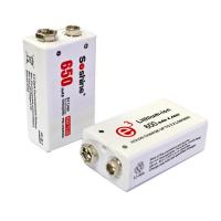 Buy cheap Soshine New 9V Li-po Rechargeable Battery: 650mAh 7.4V from wholesalers