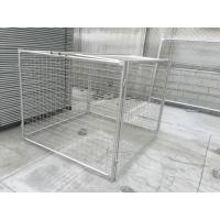 Wholesale Rubbish Cage 1500mm x 1800mm x 1800mm with lids and side and rear panels for sale melbourne from china suppliers