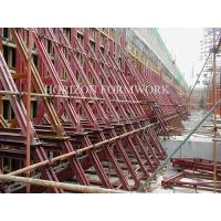 Wholesale Retaining wall concrete formwork with Single-side bracket from china suppliers