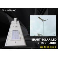 Wholesale Dimmable 60W Solar Panel LED Street Lights With LiFePO4 Battery & Motion Sensor from china suppliers