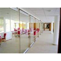 Wholesale Spotless Room Dividers / Aluminium Frame Sliding Glass Partition Wall for Office from china suppliers