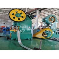 China Galvanized 2.2kw Razor Wire Making Machine For Fence on sale